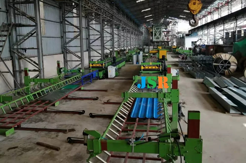 Full Automatic Panel Forming Line