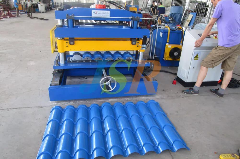 European Style Tile Forming Machine