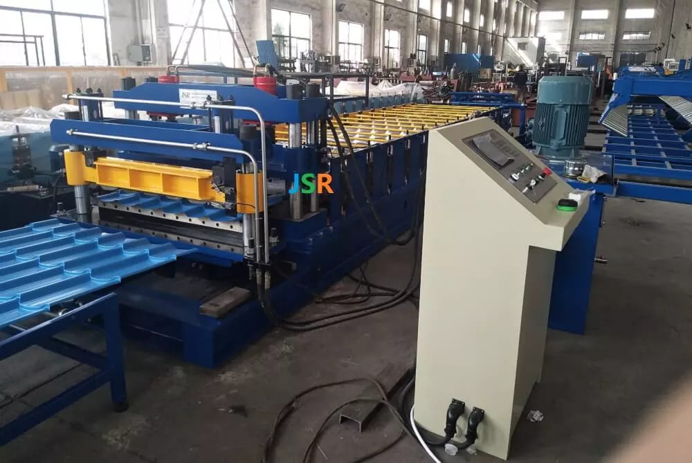 Monterry Tile Roll Forming Machine