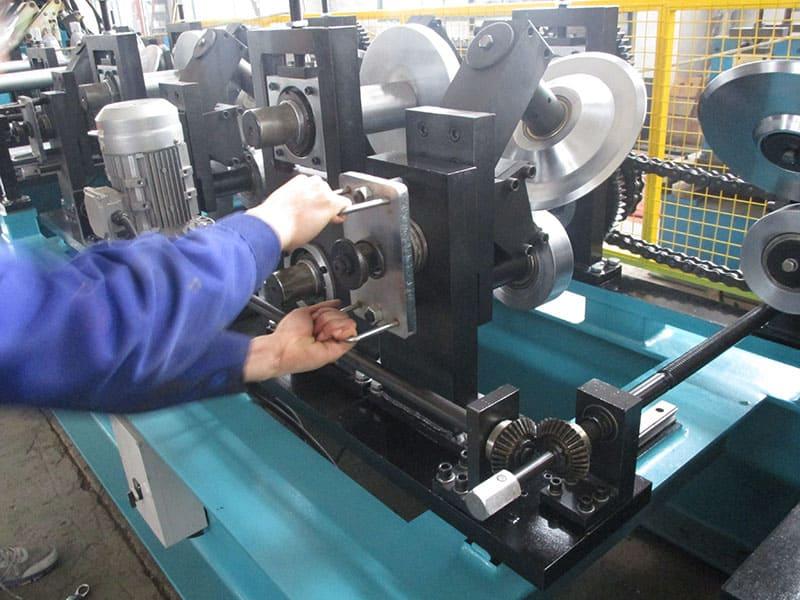 C & Z Purlin Roll Forming Machine