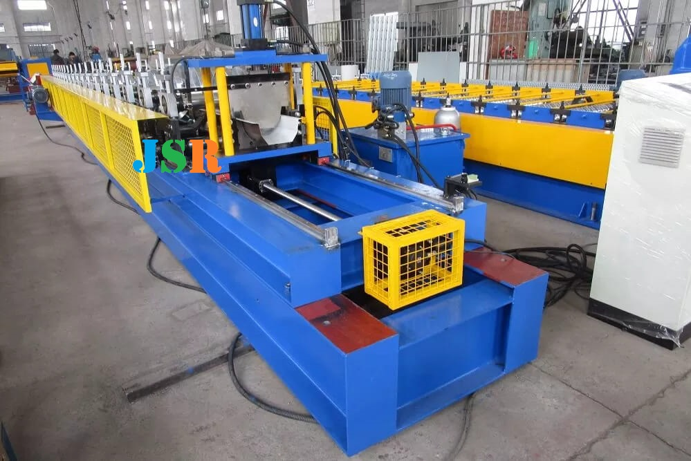 Fly Cut Gutter Forming Machine with Cassette structure