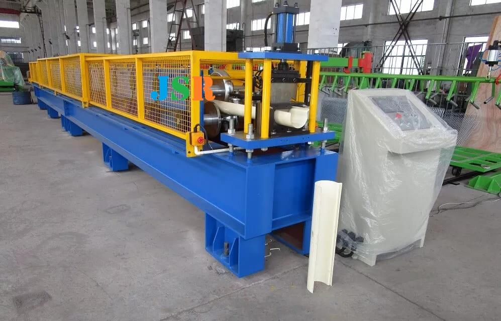 Half Round Gutter Forming Machine