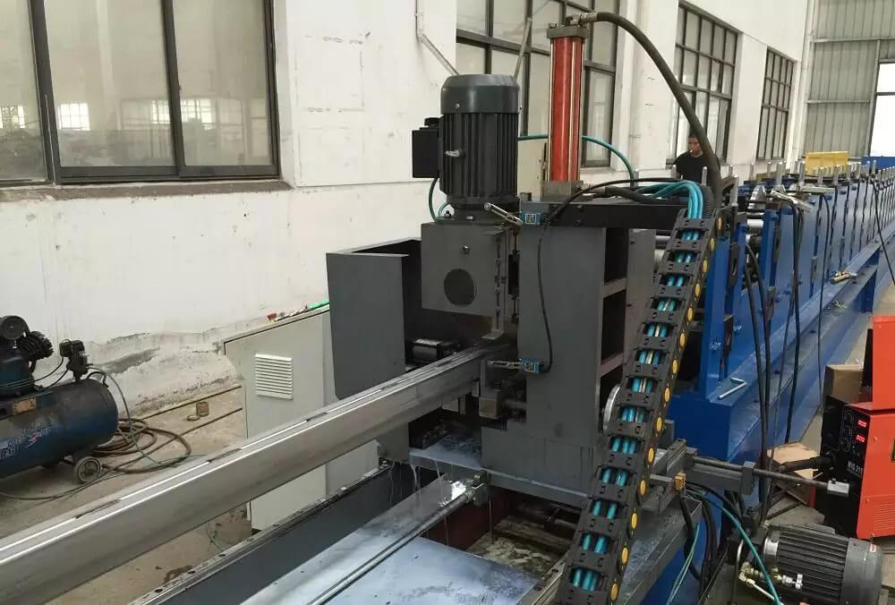 Pallet Rack Step Beams Forming Machine
