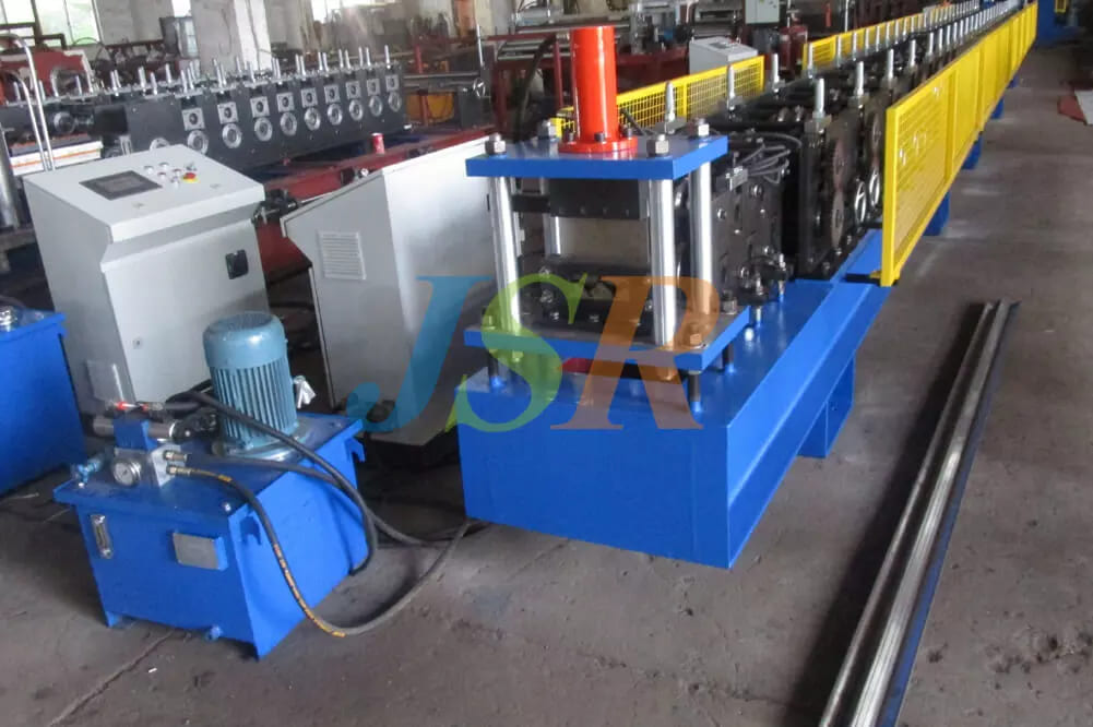 W Shape Stainless Water Eliminator Forming Machine