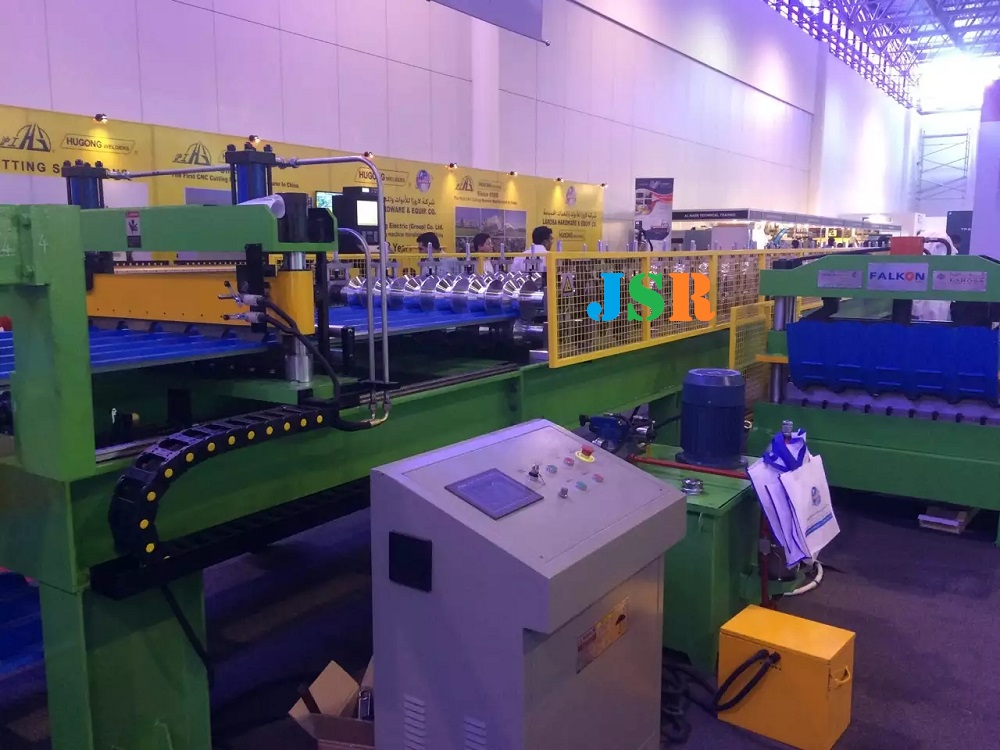 UAE-roofing sheet forming machine