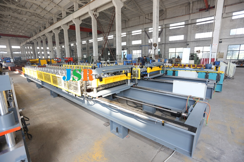 non stop forming machine