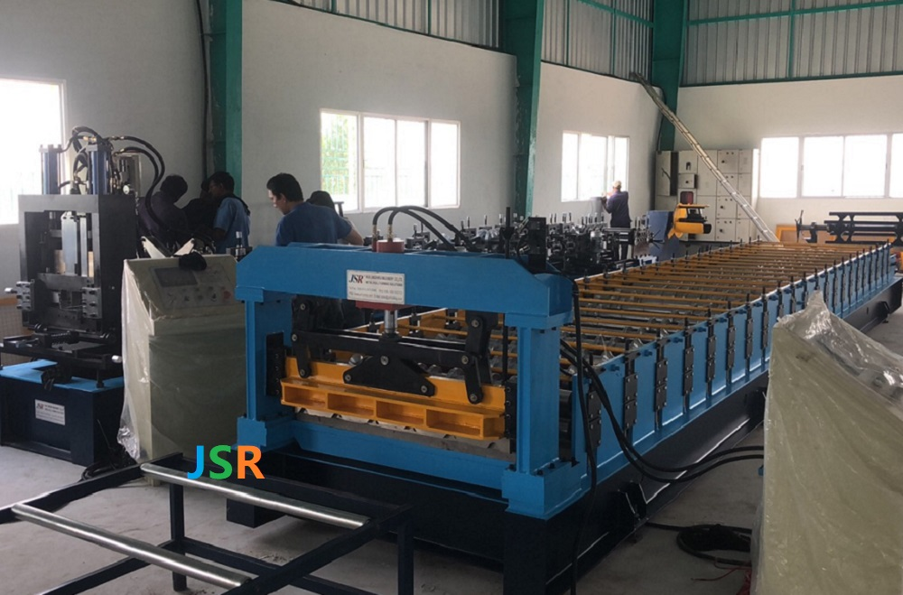 1450 Roofing Sheet Forming Machine India