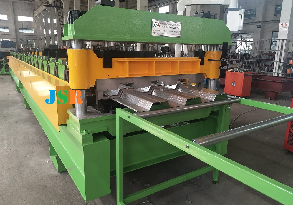 steel deck machine